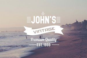 4 Vintage Logo/Insignia