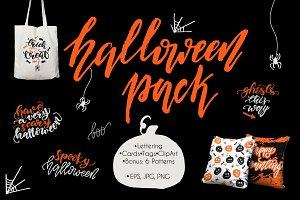 Halloween Lettering Pack!