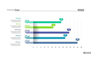 Information graphic chart slide template