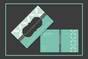 Retro Vintage Business Card Template