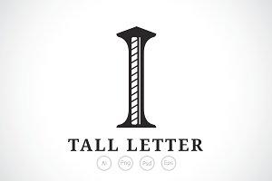 Letter I Logo Template