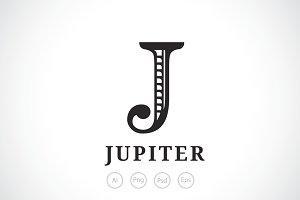 Letter J Logo Template