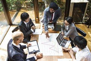 Asian Business meeting
