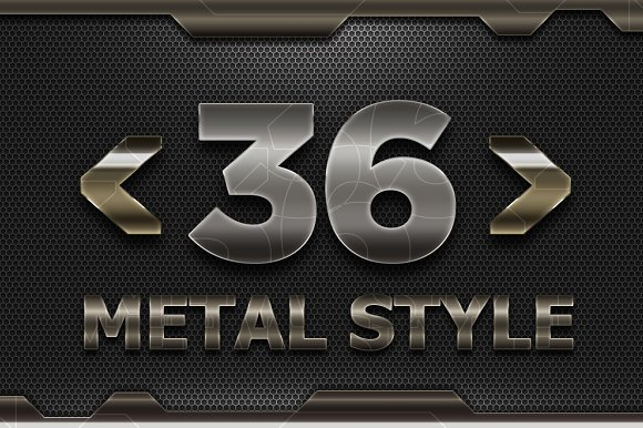 36 Metal Solid Style V02-Graphicriver中文最全的素材分享平台