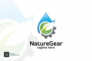 Nature Gear - Logo Template