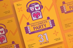 Posters | Halloween Party