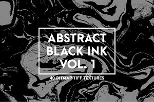 Abstract Black Ink Vol. 1