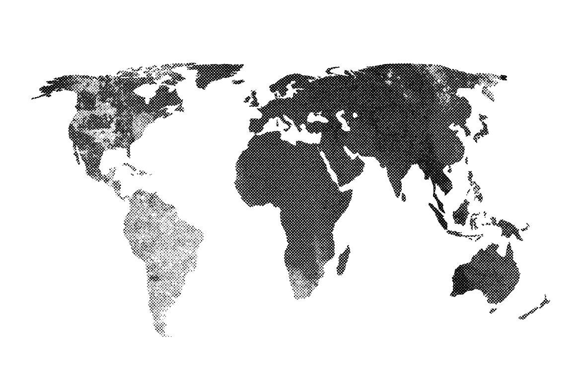 halftone textured map vector textures creative market