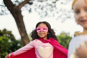 Superhero Cheerful Kids
