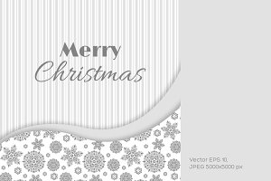 Christmas greeting card.