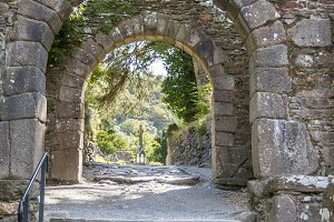 Entrance to Glendalough