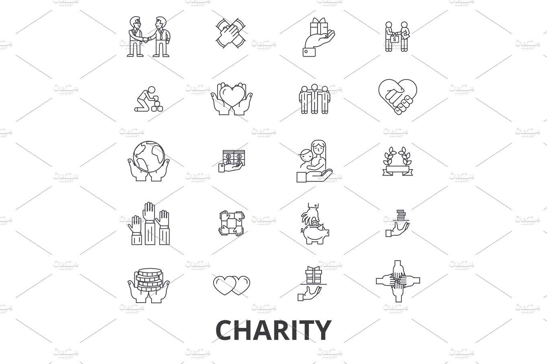 Charity, donation, volunteer, fundraising, philanthropy
