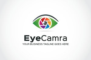 Eye Camra Logo Template