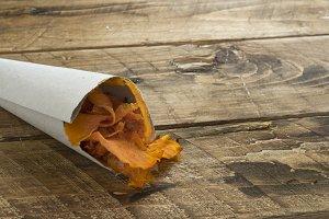 Pumpkin fried