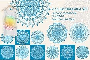 Flower Mandala set