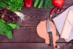 resh vegetables and herbs