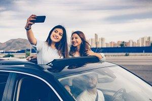Memories of a trip by car