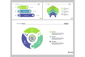 Three Banking Slide Templates Set