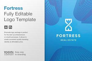 Real Estate Logo Design — Fortress
