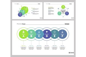 Three Finance Slide Templates Set