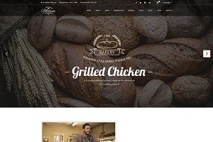 Milano - PSD Template for Bakery