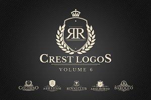 Heraldic Crest Logos Vol.6