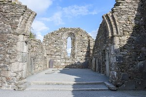 Glendalough's Cathedral