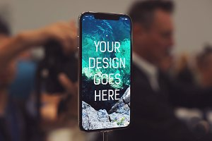 iPhone X Display Mock-up #1