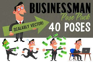 Sale: 40 Pack-Businessman