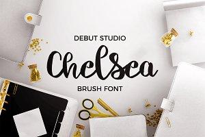 Chelsea Font Duo - Brush & Script