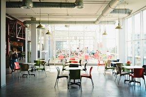 New Coffee Shop Interior