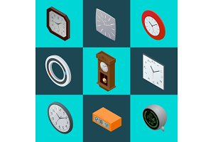Set of elegant clocks