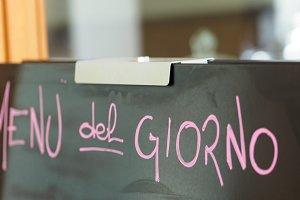 menu del giorno (daily specials)
