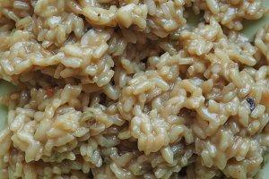 Asparagus rice food