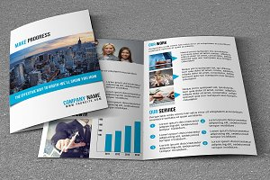 Corporate Brochure Template-V755
