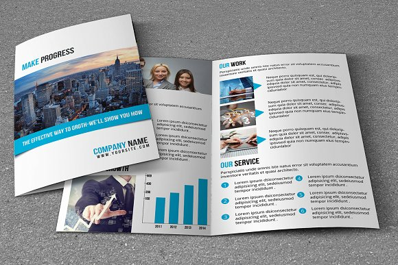 Corporate Brochure Template-Graphicriver中文最全的素材分享平台