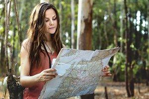 Map Adventure Destination Navigation