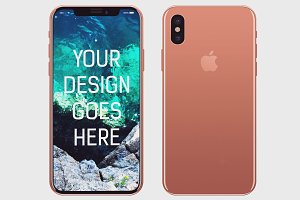 iPhone X Display Mock-up #6
