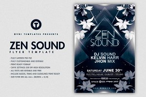 ZEN CHILL Flyer Template