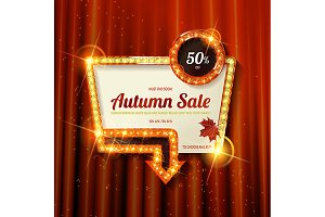 Autumn discounts, 6 banners
