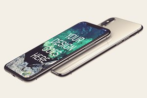 iPhone X Display Mock-up #9