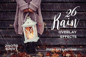 Rain Overlay Effects