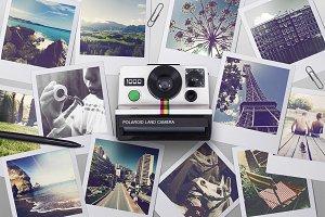 Polaroid Scene creator