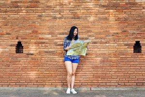 Woman Travel Backpacker Adventure