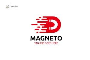 Magnetor - Letter D Abstract Logo