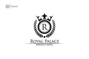 Royal Palace - Letter R Classy Logo