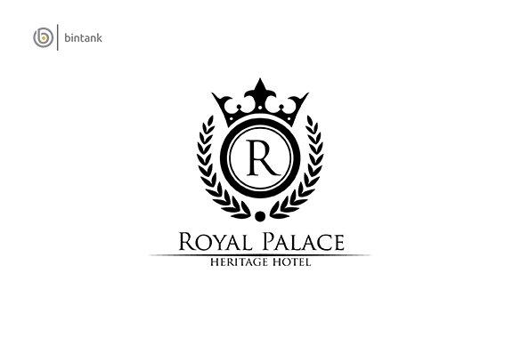 Royal Palace Letter R Classy Logo Logo Templates