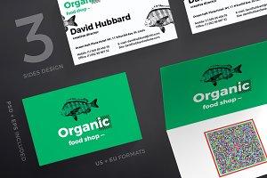 Business Cards | Organic Food Shop