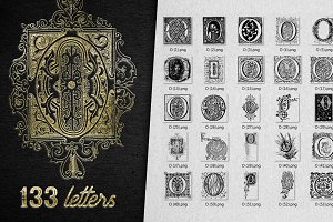 Vintage Letter O Vector And PNG