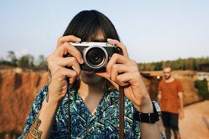 Man Photographer Traveler Lifestyle